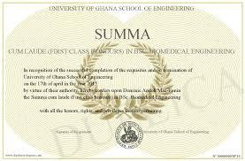 Cum laude vs first class honors