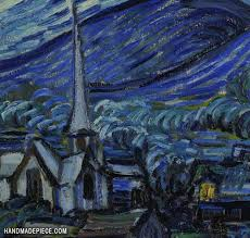 picture of the starry night vincent van gogh
