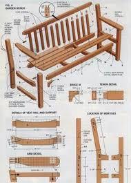 garden bench plans.  Bench 2037 Garden Bench Plans  Outdoor Furniture Throughout