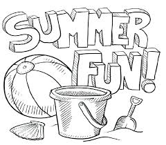 summer printables coloring pages free summer printable coloring sheets summer fun coloring pages fun summer coloring