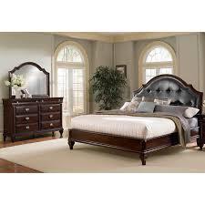 Pc King Marilyn Value City Bedroom Furniture Sets Modern White - Palladian bedroom set