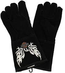 Harley Davidson Flaming Eagle Welders Glove - Extra ... - Amazon.com
