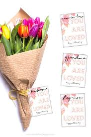 mothers day gift free printable card for flowers or any mother s gifts certificate template