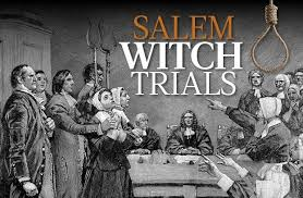 Salem Witch The Salem Witch Trials Summary History And Facts 1962 1963