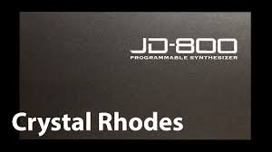JD800 Crystal Rhodes - for Montage/Modx - YouTube