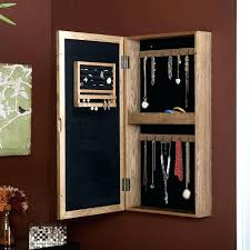 jewelry organizer armoire wall mounted mirror jewelry organizer with best jewelry images on of wall mounted jewelry organizer