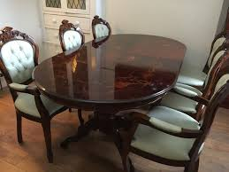 10 second hand dining room set surprising second hand round table 20 used gl dining