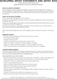 work statements examples download artist statement examples for free formtemplate