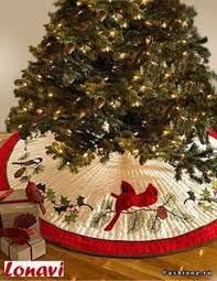 Designer Christmas Tree Skirts - Foter & Quilted tree skirt tutorial Adamdwight.com