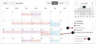 Calnedar How Do I Use The Calendar As An Instructor Canvas Lms Community