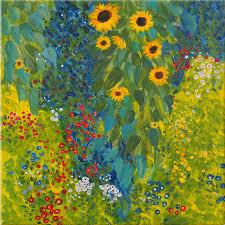 gustav klimt farm garden with sunflowers garden designs gustav klimt farm garden with sunflowers