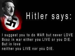 Hitler Quotes Delectable What Hitler Says About War And Love Popular Hitler Quotes