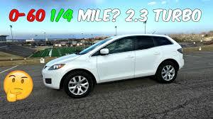 THE TEST: Mazda CX 7 2.3 Turbo 0-60 1/4 MILE 0-100km/h - YouTube