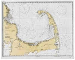 Amazon Com Cape Cod Bay Massachusetts 1933 Nautical Map