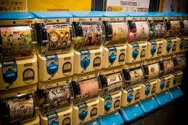 Gashapon Vending Machine Stunning The One About Gashapon Capsule Toy Vending Machines Dennis A Amith