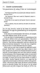 a rulebook for arguments rd ed  31 ill arguments by analogy