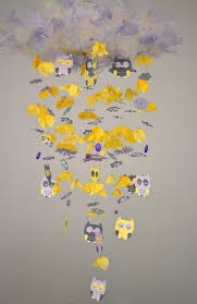 Owl Bedroom Accessories Baby Nursery Cute Baby Room Decorations Colorful Butterflies
