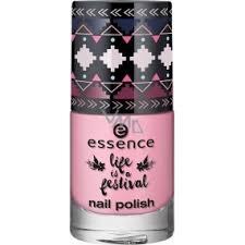 Essence Life Is A Festival Nail Polish Lak Na Nehty 03 Live Love Laugh 8 Ml