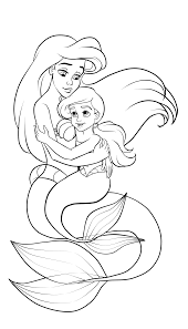 Small Picture Ariel and Her Melody Inks by madam marla on DeviantArt