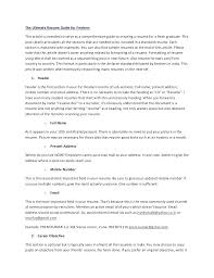 How To Write The Achievements In The Resume What To Write In