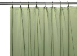 10 gauge mildew resistant vinyl shower curtain liner