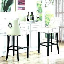 leather backless bar stools with nailheads trim counter stool leather bar stool white leather bar stools leather backless bar stools