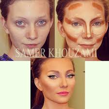 the art of contouring i like the idea of contouring but this is so pretty to begin with i wish she would just use a more natural makeup to accent her