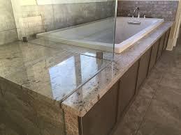 granite bathtub wall surround ideas