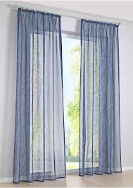 Gardine Voile Blau Blau Transparente Gardinen Vorhänge Und