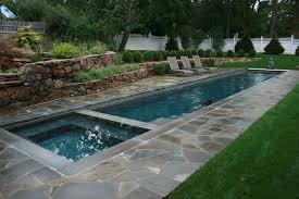 292 pool with hot tub photos