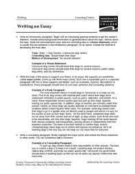 vcc lc worksheets english english  writing an essay