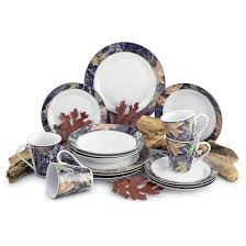 Camouflage Dishes Dining Room Lovely And Sweet Mossy Oak Dinnerware For Dining