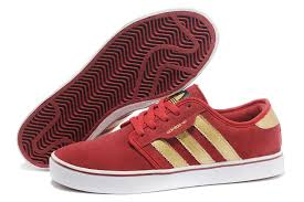 adidas shoes 2016 for men red. 2016 new adidas originals suede mens casual shoes red gold - uk#d78-1328 for men