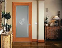 interior door with glass insert calgary panel at top