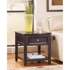 rectangle end table. Signature Design By Ashley Carlyle Rectangular End Table T771-3 Rectangle