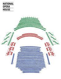 Seating Plan National Opera House