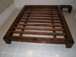 King Size Platform Bed Plans Ideas Ideas King Size Platform Bed