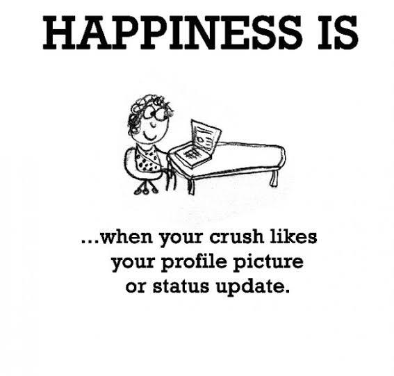 happiness status for girls