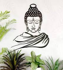 lord buddha wall art by wall centre