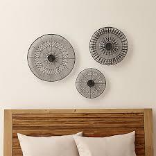 Intricate Circle Metal Wall Art 3-Piece Set