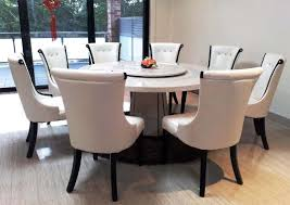 kitchen table with 8 chairs awesome exciting round dining table for 8 people