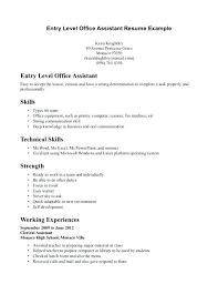 Cover Letter Medical Assistant Entry Level Examples Of Medical Assistant Cover Letters Clerical Assistant