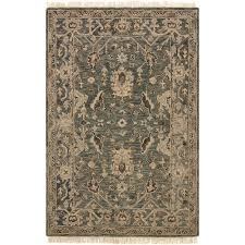 8 x 10 large transitional slate gray area rug hanover