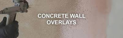concrete wall overlay stamp spray surecrete s