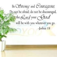 Be Strong Quotes Fascinating Bible Story Wall Decals Together With Bible Story Wall Decals Be