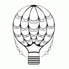 Heteluchtballonnen Zeppelins Kleurplaten Leuk Voor Kids