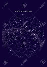 Northern Hemisphere Constellation Chart True Constellations Of The Northern Hemisphere Star Map Science