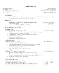 Objective For Resume Example Career Objectives Resume Career