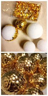 Decorated Styrofoam Balls 100 Homemade Christmas Decor Ideas Ideas Dollar stores DIY 30