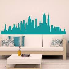 wall decal new york diy wall decal city skyline